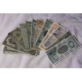 Lote De 13 Billetes Uruguay,mexico,ecuador,bolivia,colombia