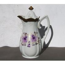 Historical*- Rara Y Antigua Cafetera Porcelana Alemana-envío