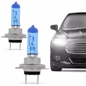 Kit Lampada Farol Luz Super Branca H7 Similar Xenon Phillips