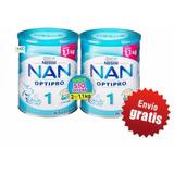 Fórmula Láctea Leche Nan1 2 Latas De 1.1 Kg Envio Gratis!