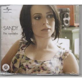 Sandy - Pés Cansados Cd Single Promocional Original Lacrado