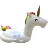 Unicornio Inflable Para Niños 95cm X 50cm X 60cm Piscina Mf