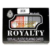 Poker Cartas Tipo Royal Plástico Remis Baraja Juego De Mesa
