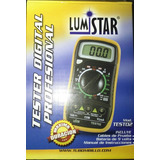 Lumistar Test02 Tester Multimetro Digital Profesional