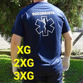 Camiseta Socorrista Plus Size