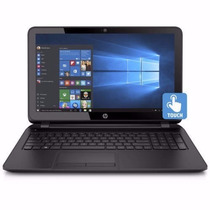 Notebook Quad Core Hp Led 4g Hd 466gb Dvdrw Tela 15.6 Touch