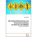 Die Zeitwertbewertung Von Finanzinstrumenten Im Rahmen Des