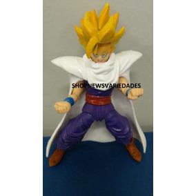 Boneco Dragon Ball Z Gohan Ssj Brinquedo Articulado + Brinde