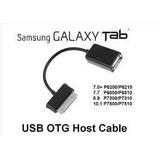 Cabo Adaptador Usb Otg Host Tablet Samsung Galaxy Tab Note