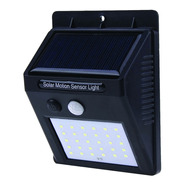 Panel Reflector Solar 20 Led Sensor Movimiento Exterior