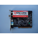 Placa Sintonizadora Encore Enl Tv-fm Pci Tv Card