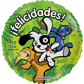 Globo Doki Paq 10 Pzas 9 Pulgadas Para Centro De Mesa