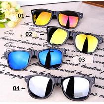Oculos Sol Masculino Espelhado Quadrado Preto Prata Azul E +