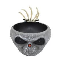 Bowl Dulcero Tazon Animado Con Sensor Sale Una Mano Haloween