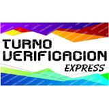 Turno Verificacion Policial Express Cordoba - Envio Gratis $
