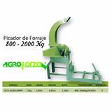 Maquina Picadora De Forraje, Pasto 800-2000kg Agrofoza Hora