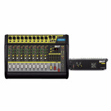 Skp Mixer Potenciado 2000w 10cha+usb-vz-100ii Housemusic