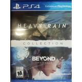 Heavy Rain & Beyond Two Souls Collection Ps4 Envío Gratis