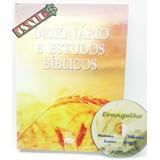 Dicionário E Estudos Bíblicos + Cd Salmos Biblia Pae Editora
