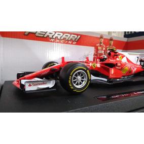 Ferrari Sf7c-f1 Raikkonen Burago 1/18-envio Gratis A Todo.
