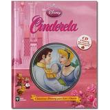 Cinderela Classicos Disney Pixar Para Ler Ouvir Livro + Cd