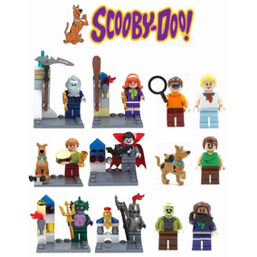 Kit Scooby Doo - 12 Bonecos - Pronta Entrega
