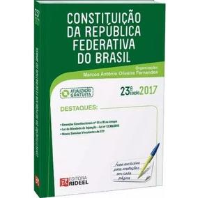 Constituição Federal Brasil 2017 - Frete Apenas R$ 12,00