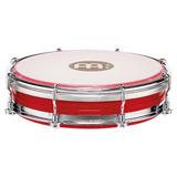 Meinl Tambor Pandero 6 Para Samba Rojo Modelo Tbr06abs