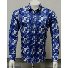 Camisa Barabas Hombre Manga Larga. Talla Disponible Xl