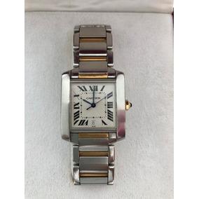 Reloj Cartier Modelo Tank Francaise Automatico