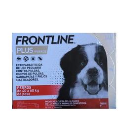 Frontline Plus Para Perro 3 Pipetas Todos Tamaños