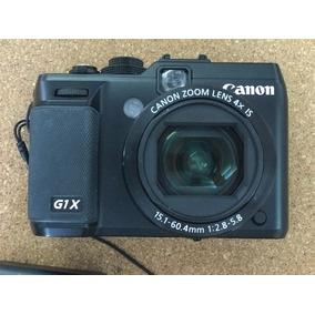 Câmera Canon G1x Sensor Aps-c Lente F2.8 15-60mm Full Hd