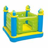 Pula Pula Inflável Castelo Intex Cama Elástica #48257 Verde
