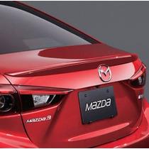 Spoiler / Aleron Cajuela Mazda 3