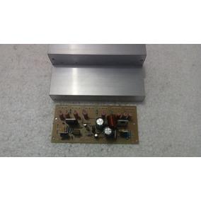 Placa Amplificador Montada C/ Dissipador De 100 A 350w