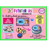Imágenes Láminas Comestibles Para Fototorta Cupcakes Cookies