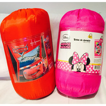Bolsa De Dormir Cars, Minnie Mouse Y Mickey Mouse