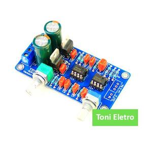 Placa Pré Amplificador Para Amp Subwoofer Ativo - 22 - 210hz