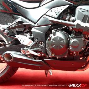 Kawasaki Z750 07/12 Escapamento Ponteira Esportiva Mexx