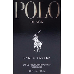 Perfume Ralph Lauren Polo Black Edt 125 Ml Lacrado