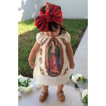 Lote 10 Vestidos Virgen De Guadalupe Para Niña