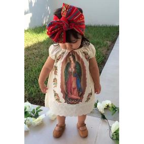 Lote 5 Vestidos Virgen De Guadalupe Para Niña