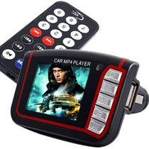 Transmisor Fm Mp4 Video Carro Pendrive Sd Controlc Pantalla