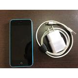 Iphone 5c 16gb Azul Desbloqueado - Frete Grátis