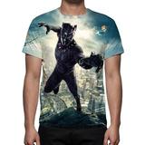 Camiseta, Filme Pantera Negra Mod 04 - Frete Grátis