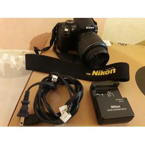 Nikon D3000 + Lente 18-55 Mm