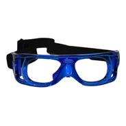 Lentes Goggles Protectores Master Pro Frontenis Azul