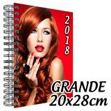 Agenda 2018 Personalizada - Tamanho Grande (20x28cm)