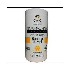 Onix Liss Natural Hair Therapy Banana/mel Mascara Hidratante