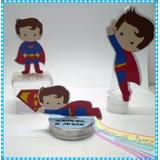 Personalizados Supermam Cute Super Homem - Kit 30 Peças